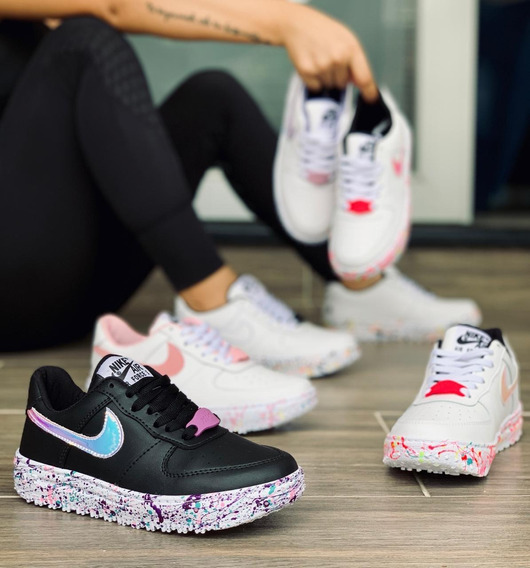 Zapatos #nike #air #force1 #dama