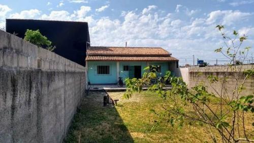 Casa Na Praia! C/ Amplo Quintal, Espaço P/ Piscina! Visite!