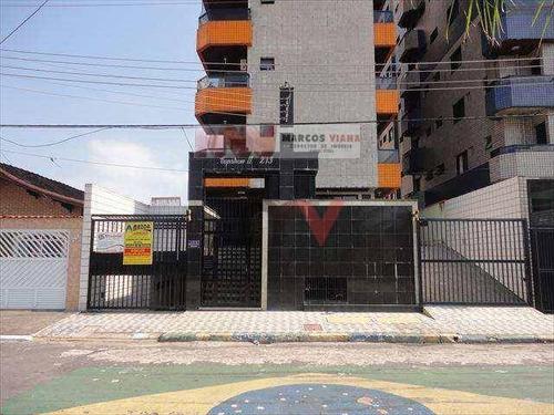 Apartamento À Venda, 65 M² Por R$ 250.000,00 - Tupi - Praia Grande/sp - Ap0461