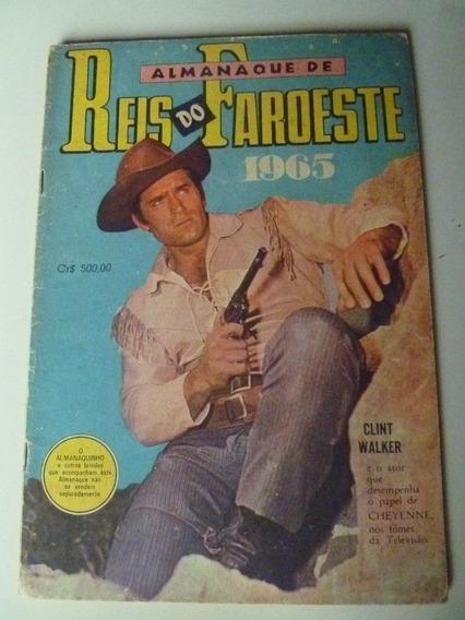 Almanaque Reis Do Faroeste 1965 C/almanaquinho E Figurinhas
