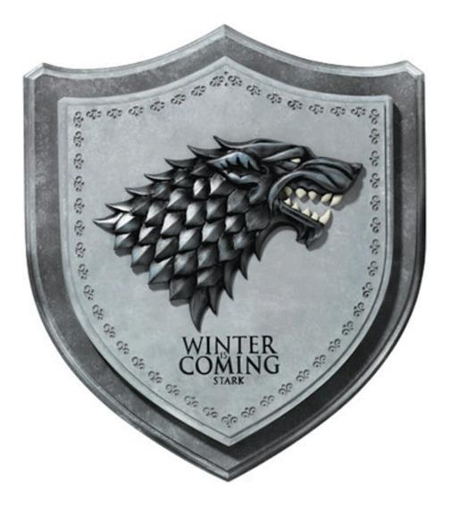 Escudo Decorativo Game Of Thrones - Stark