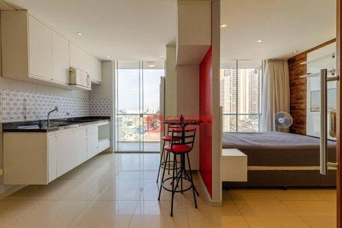 Studio Com 1 Dormitório À Venda, 38 M² Por R$ 295.000,00 - Vila Augusta - Guarulhos/sp - St0054