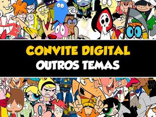 Convite Digital - Temas Diversos