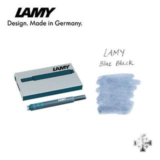 Cartucho Para Pluma Fuente Lamy T10. Azul-negro (5 Pzas)