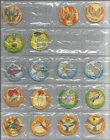 Brasil Ano 2000 - Lote Com 10 Tazos Da Coleção Zoomom