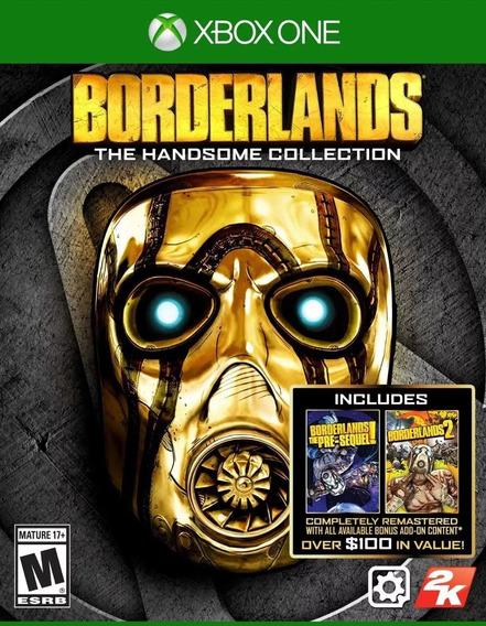 Jogo Novo Borderlands The Handsome Collection Para Xbox One