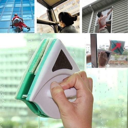 Imagem 1 de 7 de Limpa Janelas Magnético Apartamento Limpador De Vidro Imã