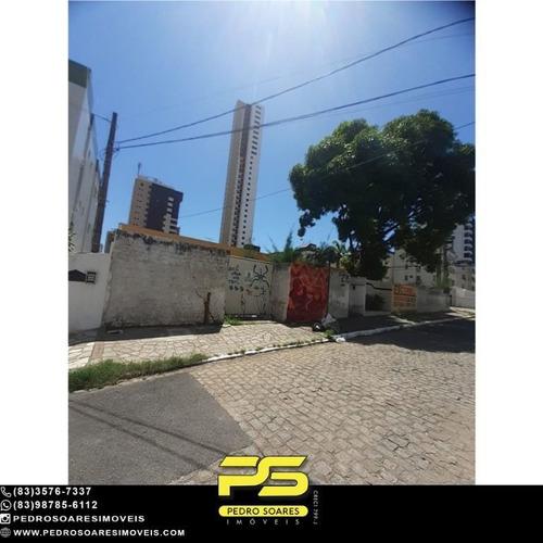 Terreno À Venda, 780 M² Por R$ 1.650.000 - Brisamar - João Pessoa/pb - Te0323