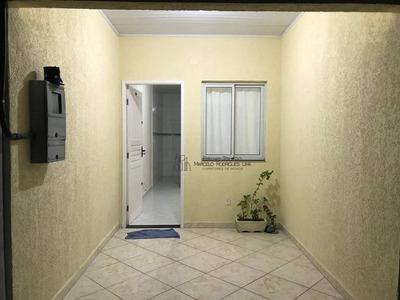 Casa Com 2 Dormitórios Para Alugar, 60 M² Por R$ 1.100/mês - Jardim Quietude - Praia Grande/sp - Ca0018