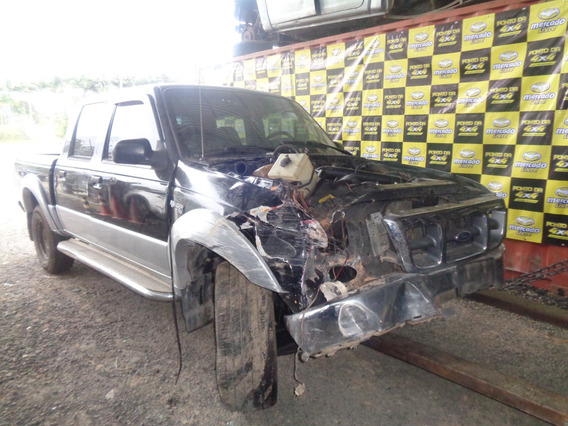 Sucata Ford Ranger Xlt 2.5 4x2 Cabine Dupla Diesel 2001