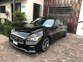Infiniti Q50 3.5 Hybrid At 2017 Negro Impecable