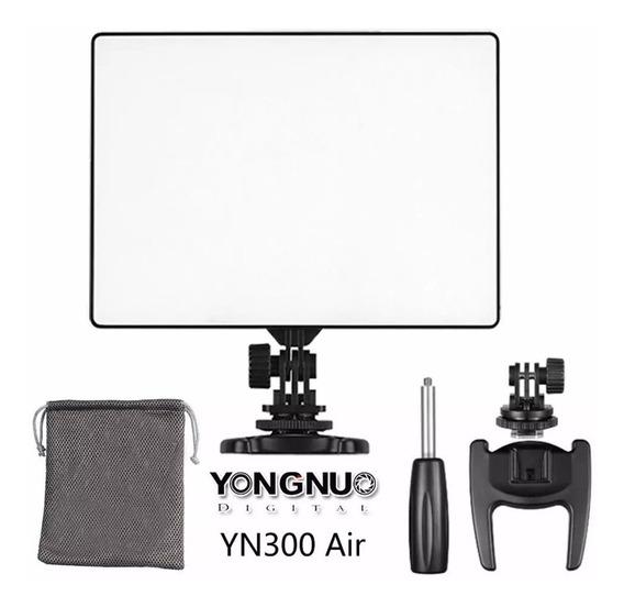 Painel Iluminador Led Yongnuo Yn300 Air + Fonte 3200-5500k