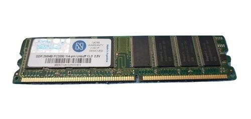 Memoria Ram Ddr 256 Mb Pc3200. Leer Descripción