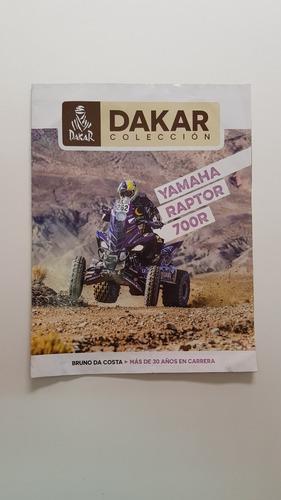 Libro Colección Dakar Yamaha Raptor 700r