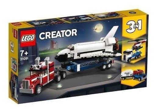 Lego Creator 31091 - Modelo 3 Em 1: Veículo Transportador