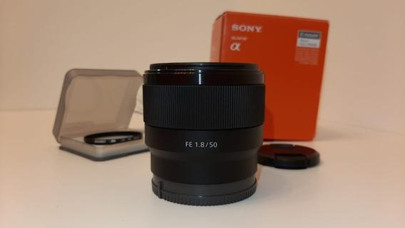Lente Sony Fe 50mm F1.8