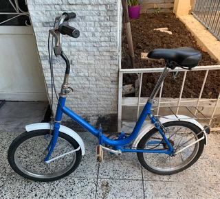 Bicicleta Olmo Plegable R16 Tipo Aurorita