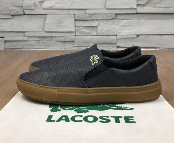 Tênis Lacoste Slip On Original + Frete Grátis