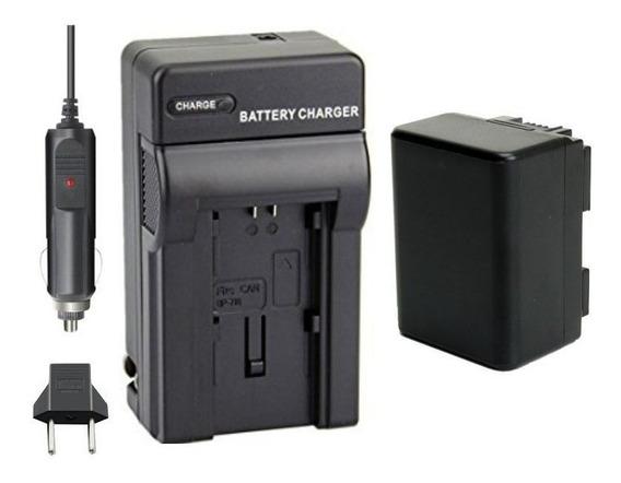Bateria Carregador Canon Vixia Hf R700 R800 R80 R82 R60 R62