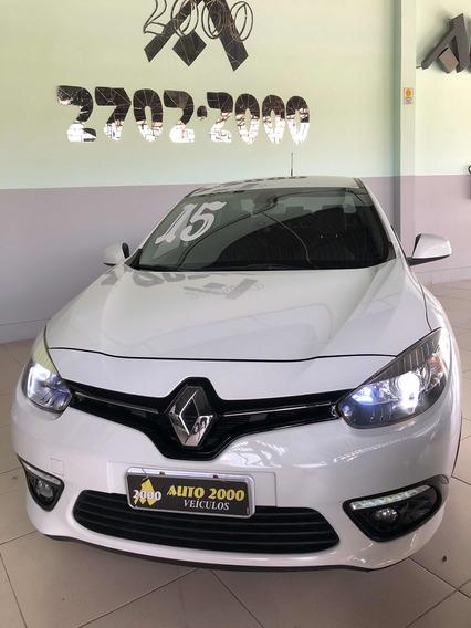 Renault Fluence 2.0 Dynamique Cvt 2015 Completo Couro