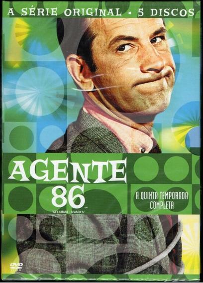 Agente 86 A Quinta Temporada Completa - Box 5 Dvds - Lacrado