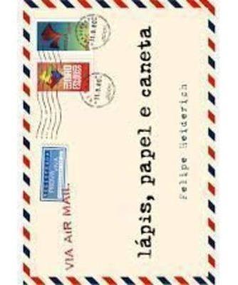 Livro Lápis Papel E Caneta Heiderich, Felipe