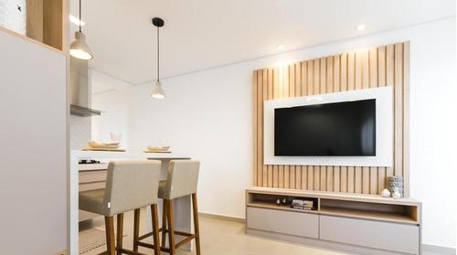 Apartamento Com 2 Dormitórios À Venda, 53 M² Por R$ 350.000,00 - Parque Das Nações - Santo André/sp - Ap6058