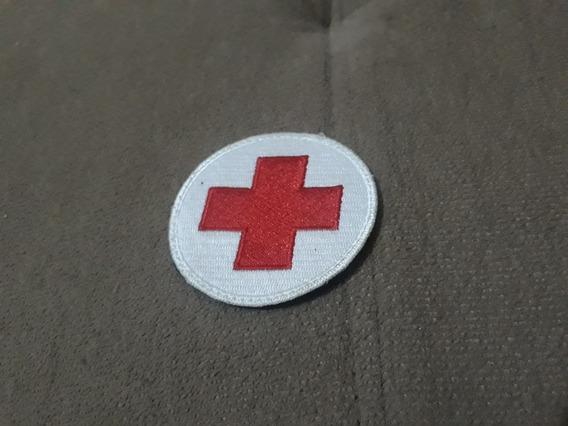 Patch Cruz Vermelha 6,5cm