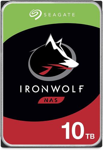 Seagate Ironwolf Nas 10tb Disco Duro Hdd Sata 6gb/s 3 .5 In