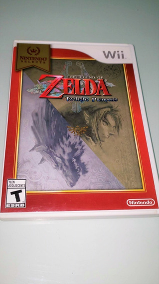 Zelda Twilight Princess Wii - Nintendo Selects - Sale
