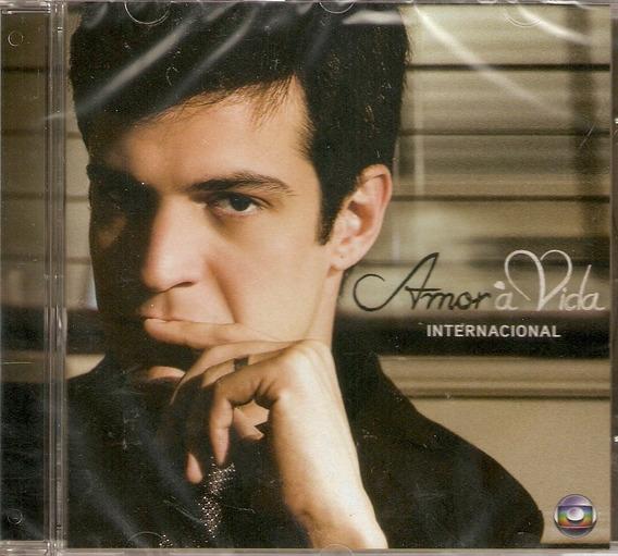Cd Amor A Vida - Trilha Sonora Internacional - Novo***