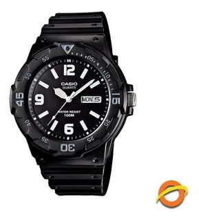 Reloj Casio Mrw-200h Analogico Sumergible Fecha Y Dia Wr100