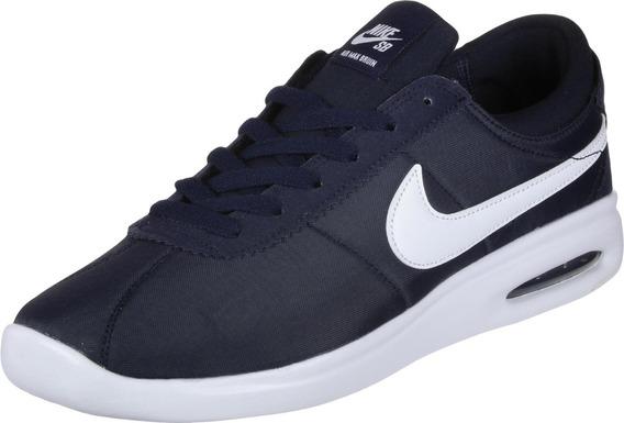 Zapatillas Nike Sb Air Max Bruin Tela Azul 100% Original !!