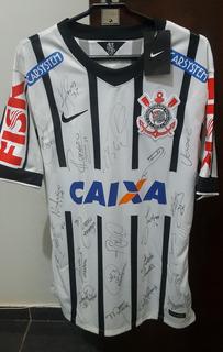Camisa Corinthians Original Autografada - Raríssima - Única