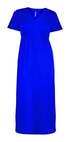 Maxi 71406 Vestido Largo Moda Mexicana Rinna Tallas Extras