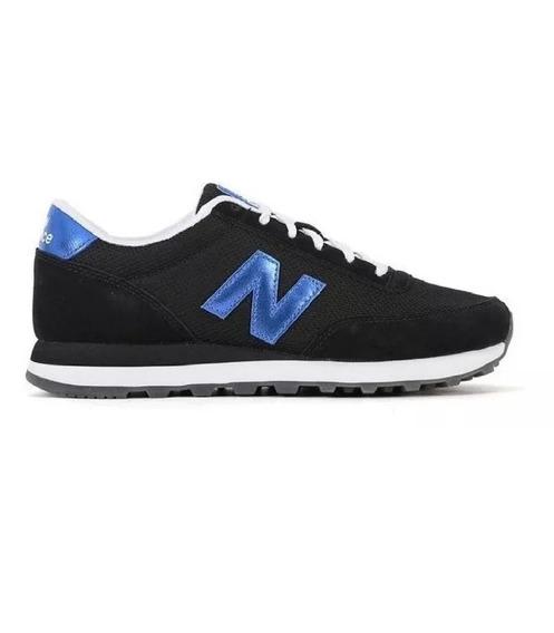 Zapatillas New Balance 501 Dama - Negro