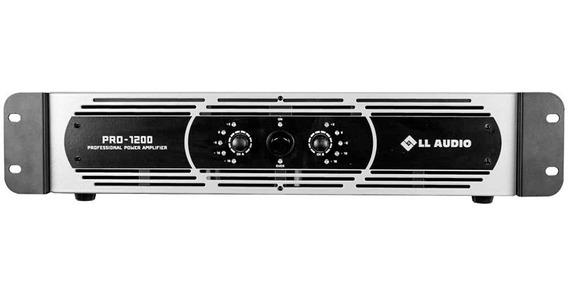 Amplificador De Potência Ll Audio Pro1200 300w Rms Bivolt
