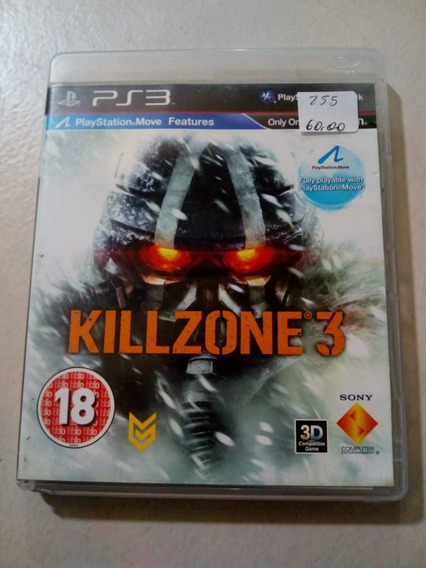 Killzone 3 Ps3 Mídia Física