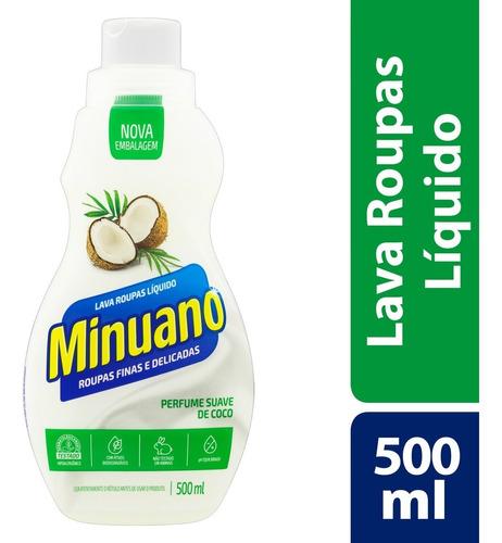 Lava Roupas Líquido Minuano Roupas Finas E Delicadas 500ml