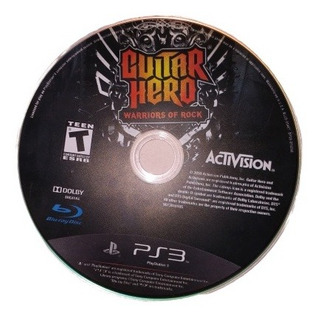 Guitar Hero Warriors Of Rock Ps3 Disco Físico Original