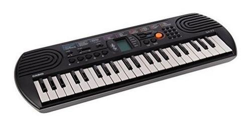 Teclado Piano Portátil Casio Sa-77 Gray