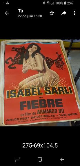 Afiche De Cine Argentino Original-fiebre-isabel Sarli- E G