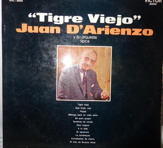 Disco Juan D Arienzo Tigre Viejo Troilo Fox Export