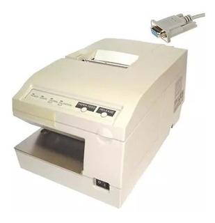 Impresora Comandera Epson Tmu375 Serial No Fiscal + Soft Gestion Y 1 Rollo De Papel 1 Cinta De Tinta 1 Cable Rs232