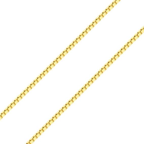Corrente Gargantilha Ouro 18k 750, 50cm, 2g Com Garantia
