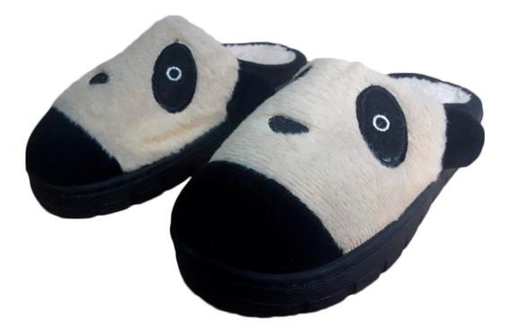 Pantuflas Osito Panda - Talle:29/30 - Hasta Agotar Sotck