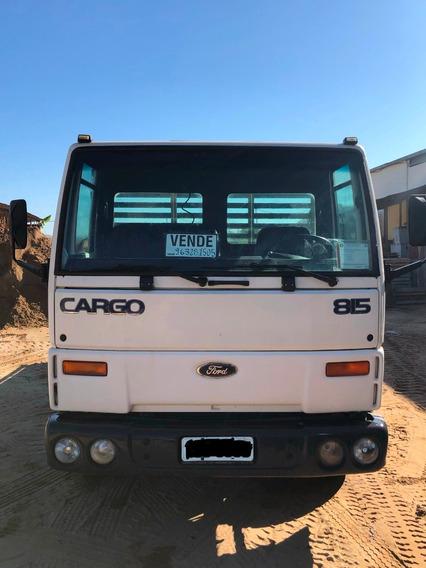 Ford Cargo 815 Ano 2001 Carroceria