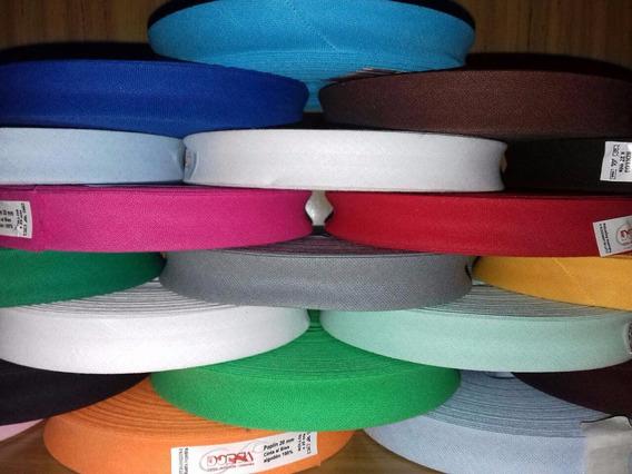 Bies Poplin Lisa 20 Mm Colores 25 Mtr