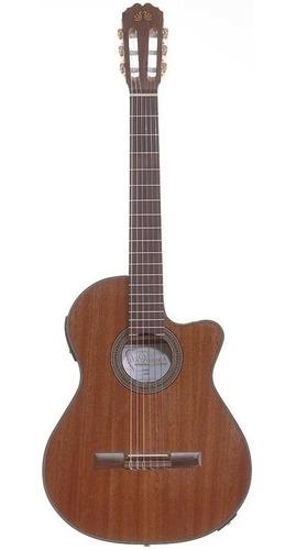 Guitarra Electroacústica La Alpujarra Oruba Ec 84 Mate Funda