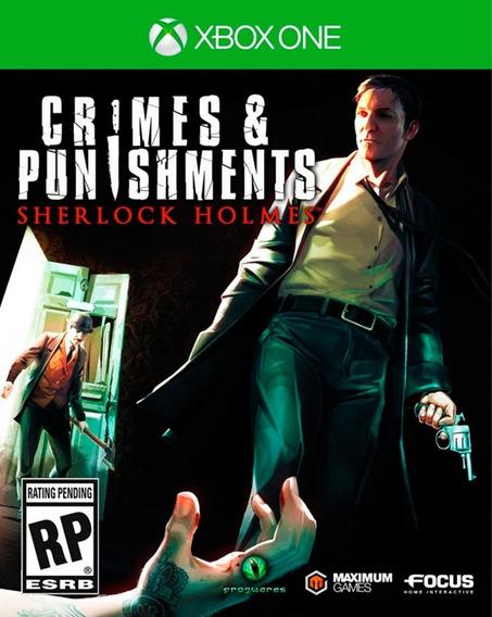 Sherlock Holmes: Crimes And Punishments - [xbone] - Lacrado